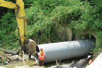 Sanitary sewer pipe