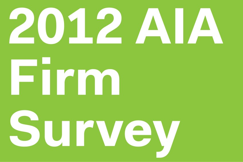 2012 Firm Survey From the American Institute of Architects