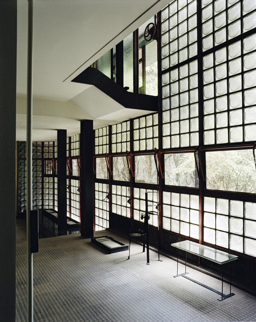 "Pierre Chareau, Maison de Verre interior, 1928–32, from ""Pierre Chareau: Modern Architecture and Design."""