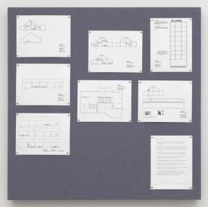 Liam Gillick's Pinboard Project