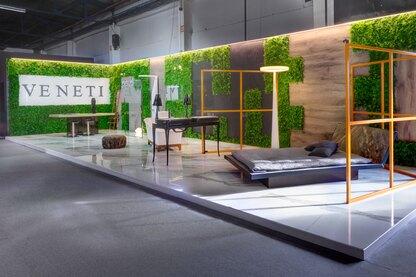 Veneti Pavillion design at 100%hotelshow2016