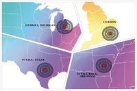 Across the Institute: In Austin, Detroit, London, Little Rock