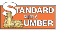 Logo for Standard Lumber, Grand Rapids, Mich.