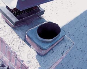 Be cautious about reducing the cross sectional areas of the flue when relining.