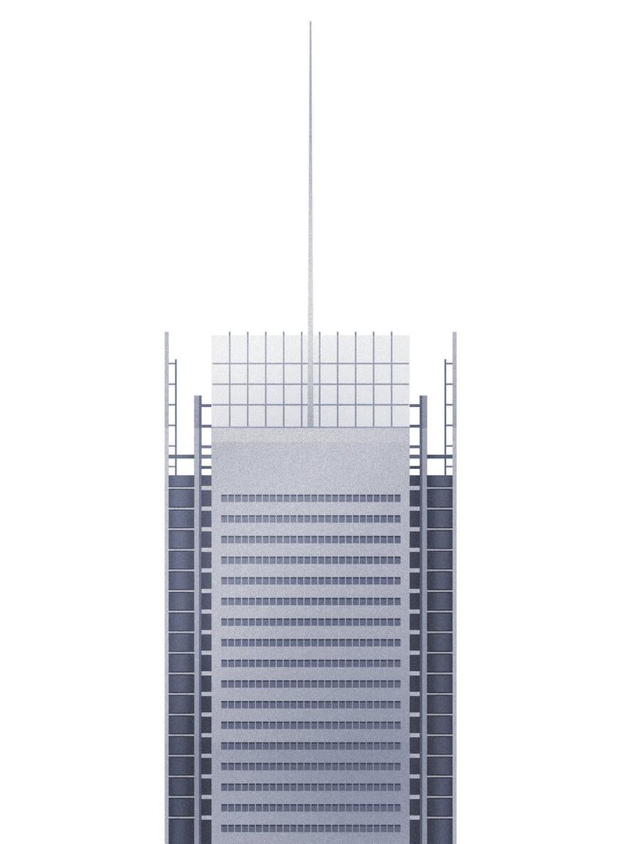 New York Times Building by Renzo Piano Building Workshop and FXFowle Architects, completed in 2007.
