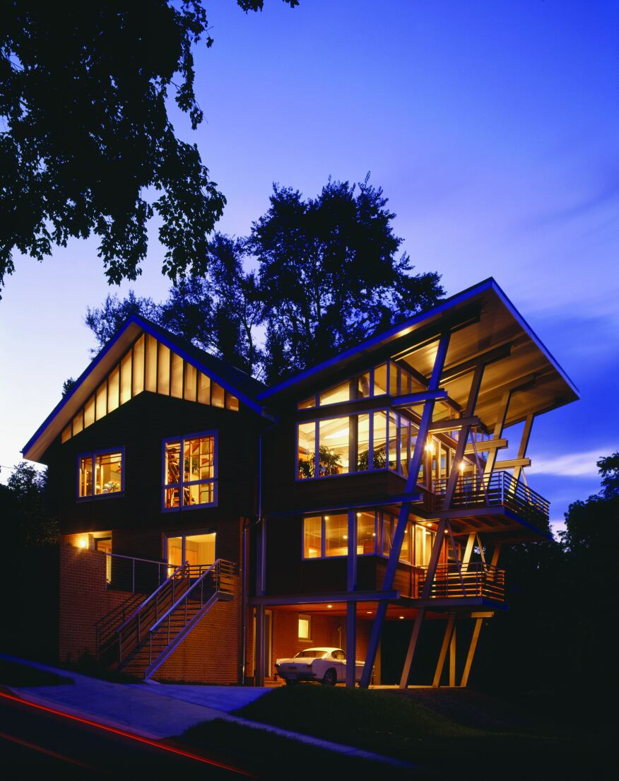 Architects 39 own homes rich in cost saving space saving - Design your own modular home online ...