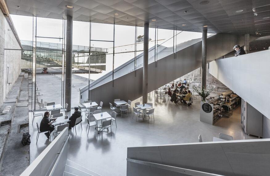 Danish Maritime Museum, Bjarke Ingels Group (BIG), Helsingør Denmark