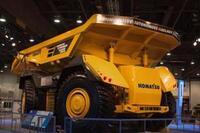 Autonomous haulage vehicle from Komatsu