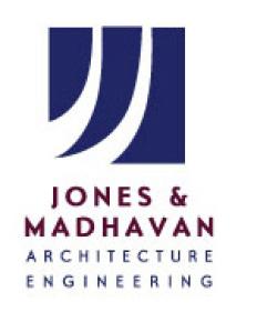 Jones & Madhavan Logo