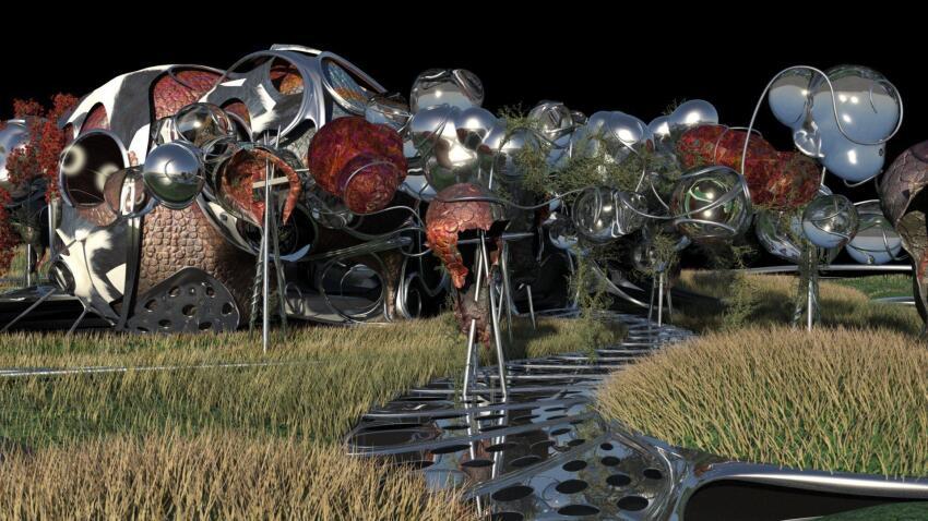TBA 21 Pavilion rendering.