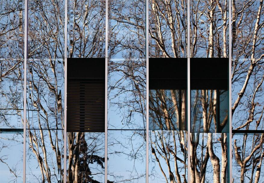 """This mirror effect is able to bring a reflection of the landscape,"" Tommaso Principi says."