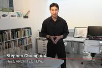 Co-Host 'ARCHITECT Live' with Stephen Chung, AIA