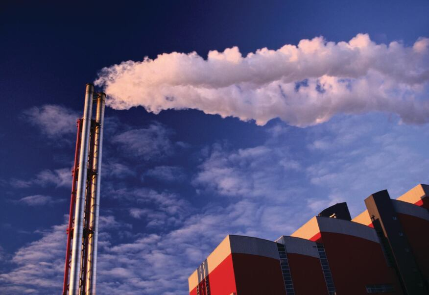 Waste Not: Steam from industrial production contains heat that can be captured and recycled to offset traditional energy sources