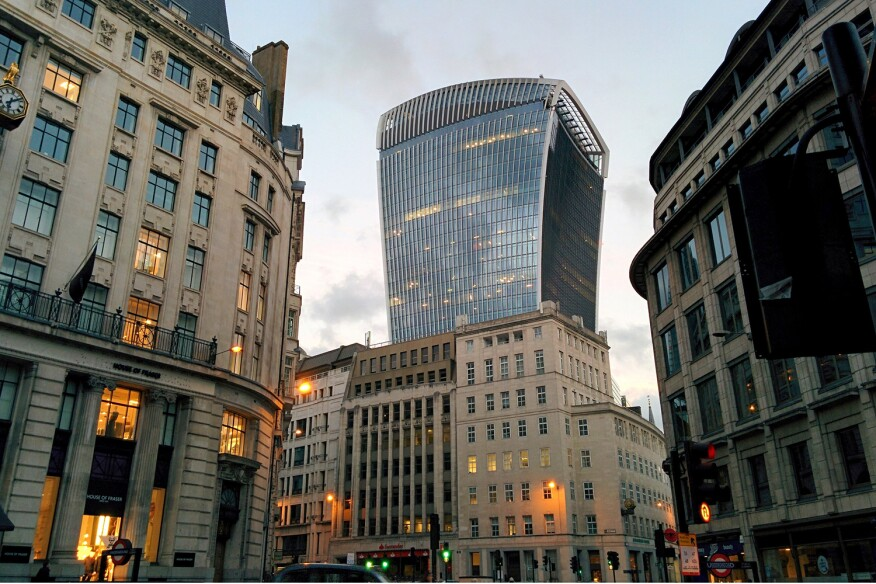 20 Fenchurch Street, a.k.a., the Walkie Talkie, won the 2015 Carbuncle Cup.