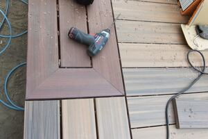 Picture-Framing a Deck