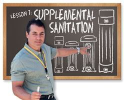 Equipment - Supplemental Sanitation