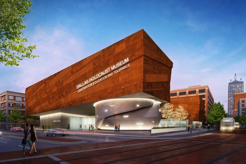 Preliminary Renderings Released of New Dallas Holocaust Museum