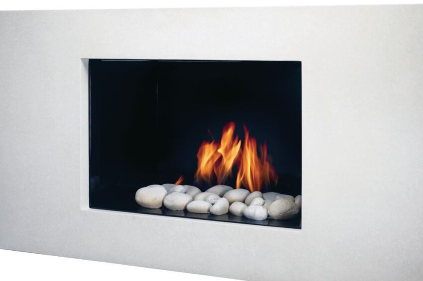 Colorful Makeover for European Home's Vision Gas Fireplaces