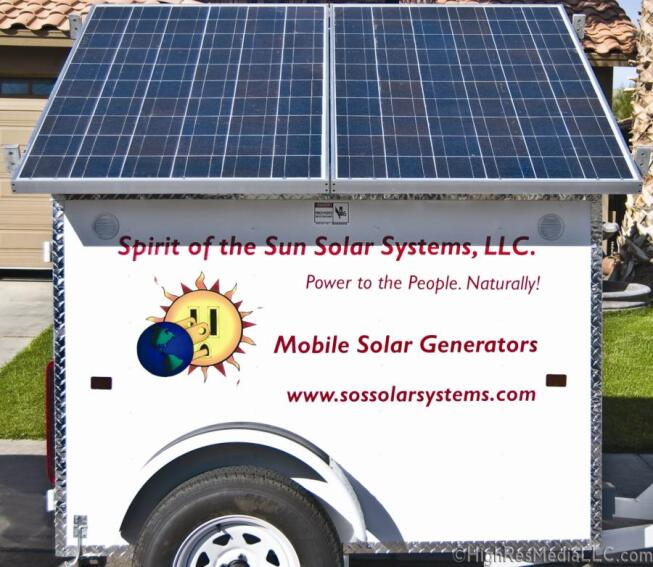 Spirit of the Sun Solar Generators
