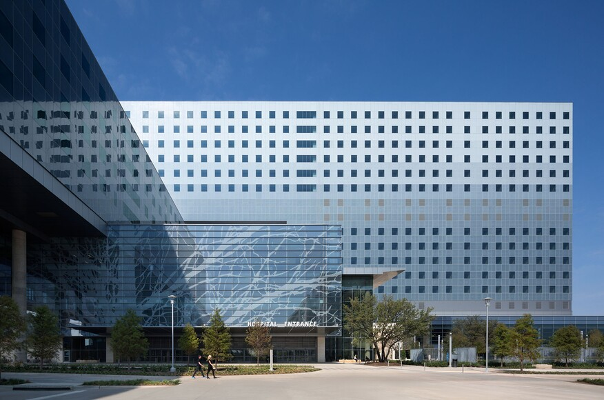 New Parkland Hospital Architect Magazine HDR Corgan