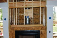 How to Install a Fireplace on a Porch