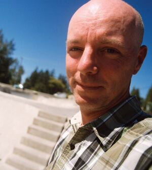 Peter Whitley is the author and designer of the Public Skatepark Development Guide and a board member of the group Skaters for Public Skateparks.