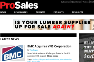 Carter Lumber Alludes to BFS/ProBuild Sale to Sell to Pros