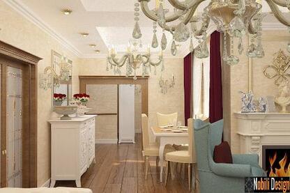 Service classic interior houses-Nobili Interior Design