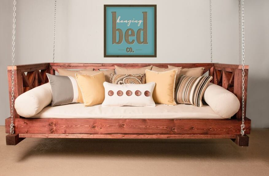 The proliferation of hanging beds on Pinterest boards inspired retailer Frank May to launch a new company.