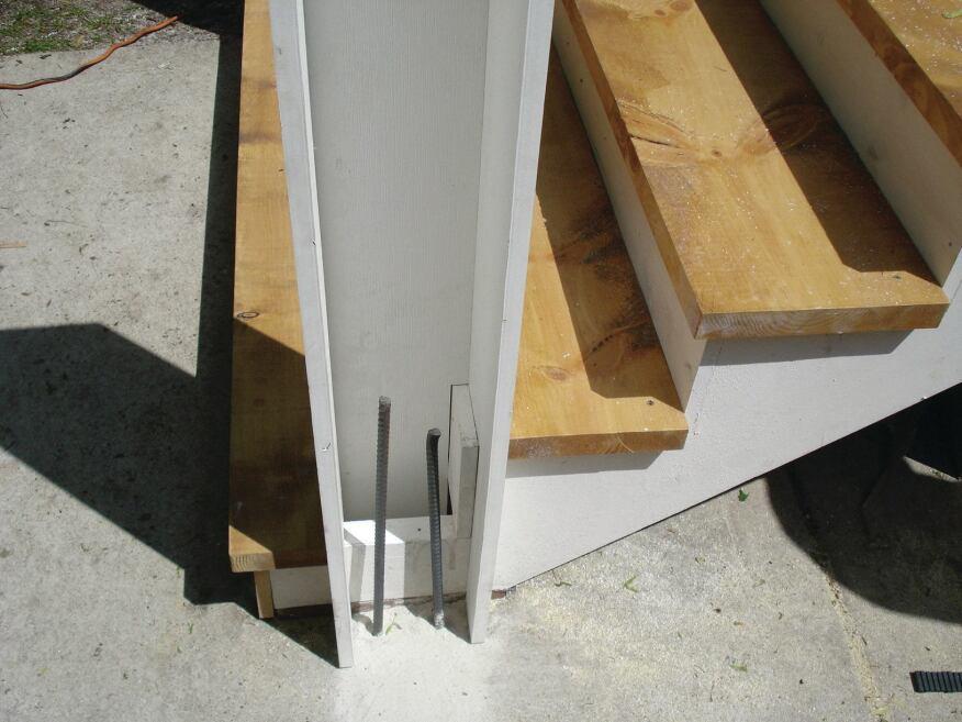 Concrete Filled Pvc Posts Professional Deck Builder