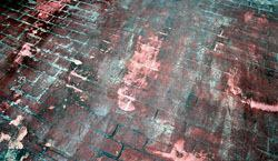 The removal of this solvent-based curing product became very messy and the contractor was never able to get it all off, leaving the final product blemished.