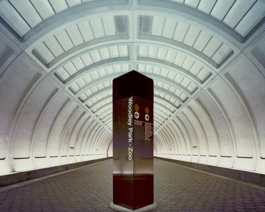 The Woodley Park station opened in 1981 as part of a 2.1-mile extension of the red line to the northwest of Dupont Circle.