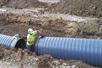 Underground Construction Pipe