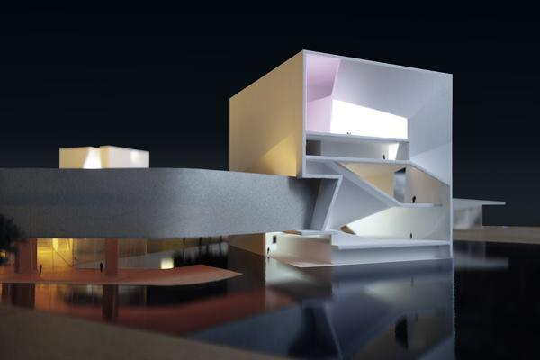 Model view - Light Loop with Art Islands.