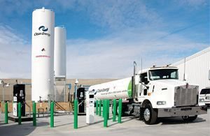The lack of delivery infrastructure may delay the broad acceptance of natural gas as a vehicle fuel. Photo: Clean Energy