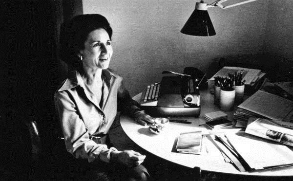 Ada Louise Huxtable in 1976.