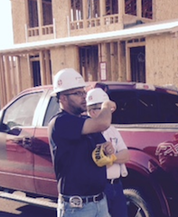 Responsive Home(s) project superintendent, Pardee Homes' Justin Zaricki.