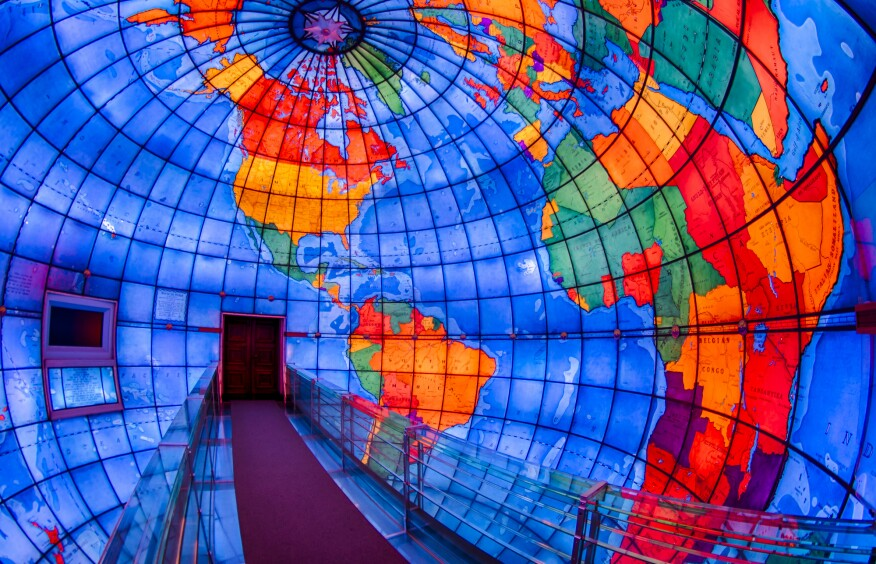Focus Lighting updated the massive, immersive Mapparium, in Boston, with a new LED lighting and controls system.