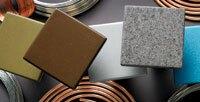 DuPont Corian Metallic Options