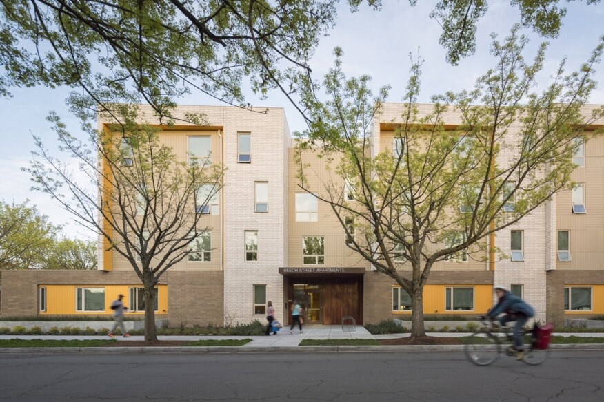 Beech Street Apartments by Holst Architecture in Portland, Ore.
