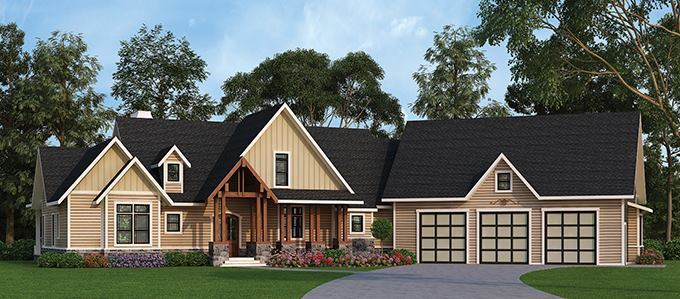 4 House Plans with Fresh Looks | Builder Magazine | Design ...