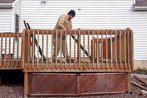 Efficient Deck Demolition