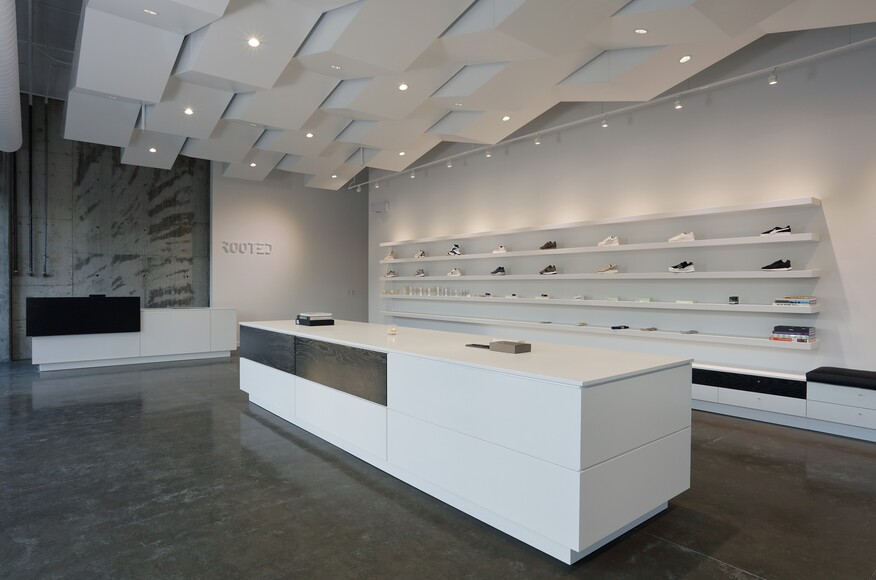 Modern Architecture Nashville rooted store | architect magazine | price harrison architect