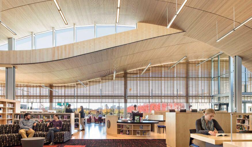 Boston Public Library, East Boston Branch, William Rawn Associates, Architects, Boston