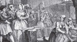 The Bridewell workhouse opens in London. Soon English workhouses become known for their deplorable living conditions.