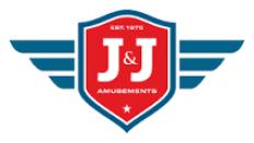 J & J Amusements Logo