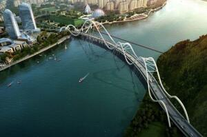 Jingliu Road Bridge for David Century City, Zhejiang, China