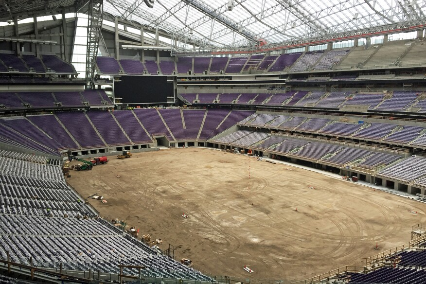 Experiencing The Outdoors Inside The New Minnesota Vikings