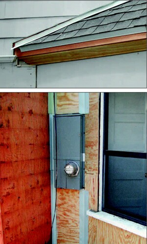 The roof/wall intersection and inside corners are two particularly problematic areas when installing flashing as part of a siding job.
