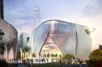 Xiqu Center, by Bing Thom Architects and Ronald Lu & Partners